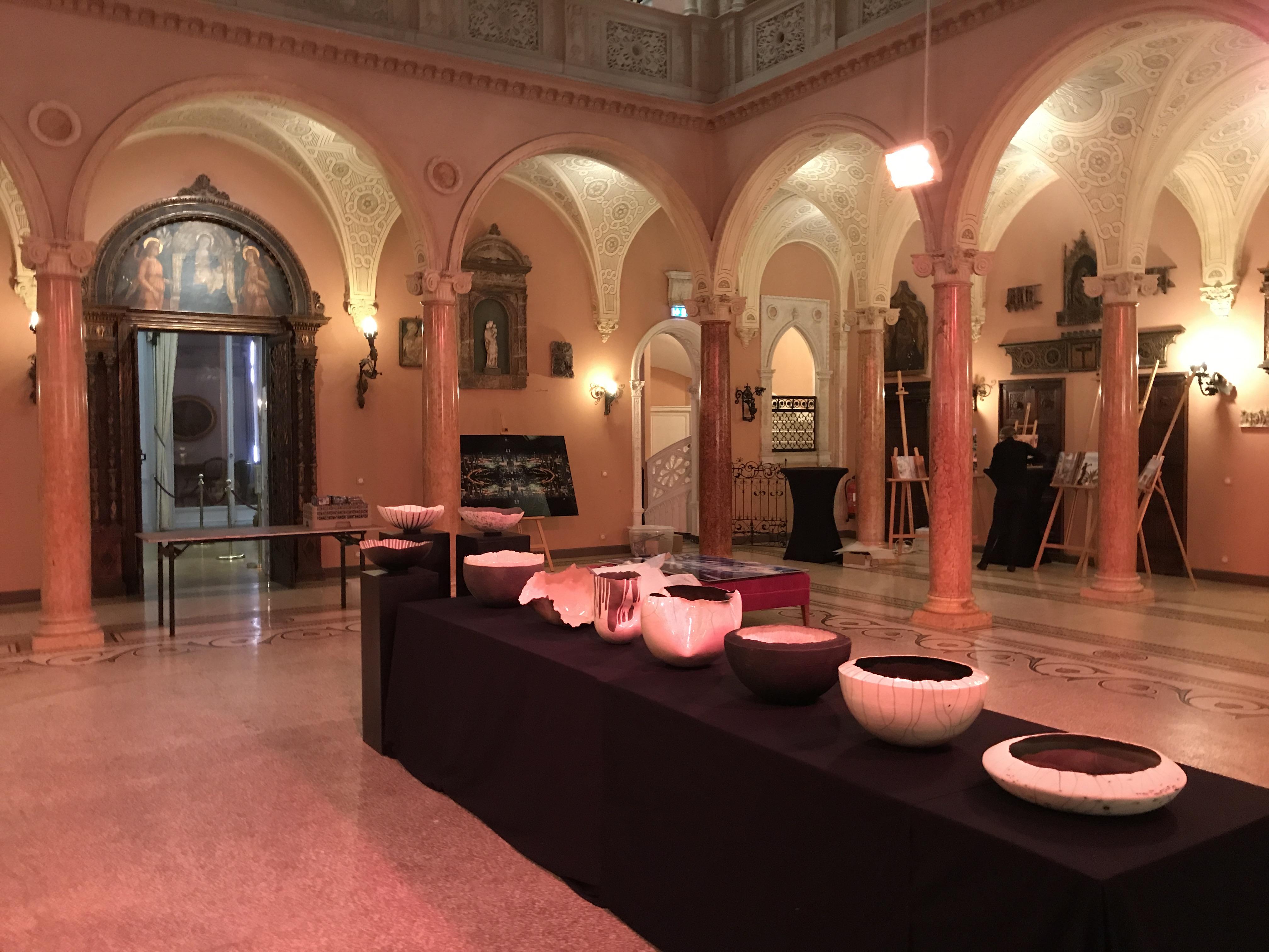 Artdinner à la Villa Ephrussi de Rothschild le 1er février 2019