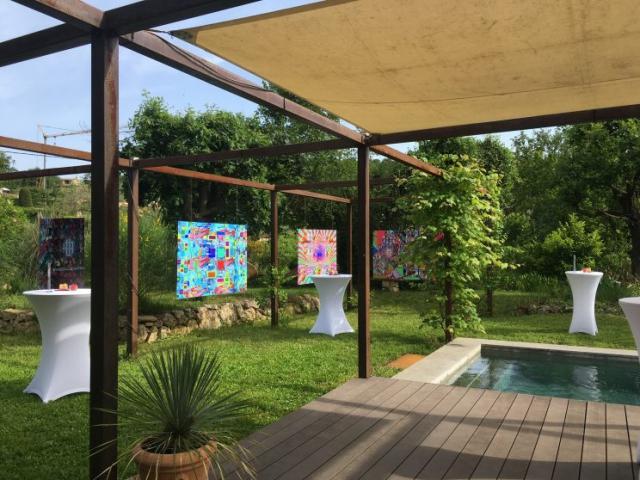 """Private Viewing """"Magic Patterns"""" par Elesander Senterra   26 mai 2018"""