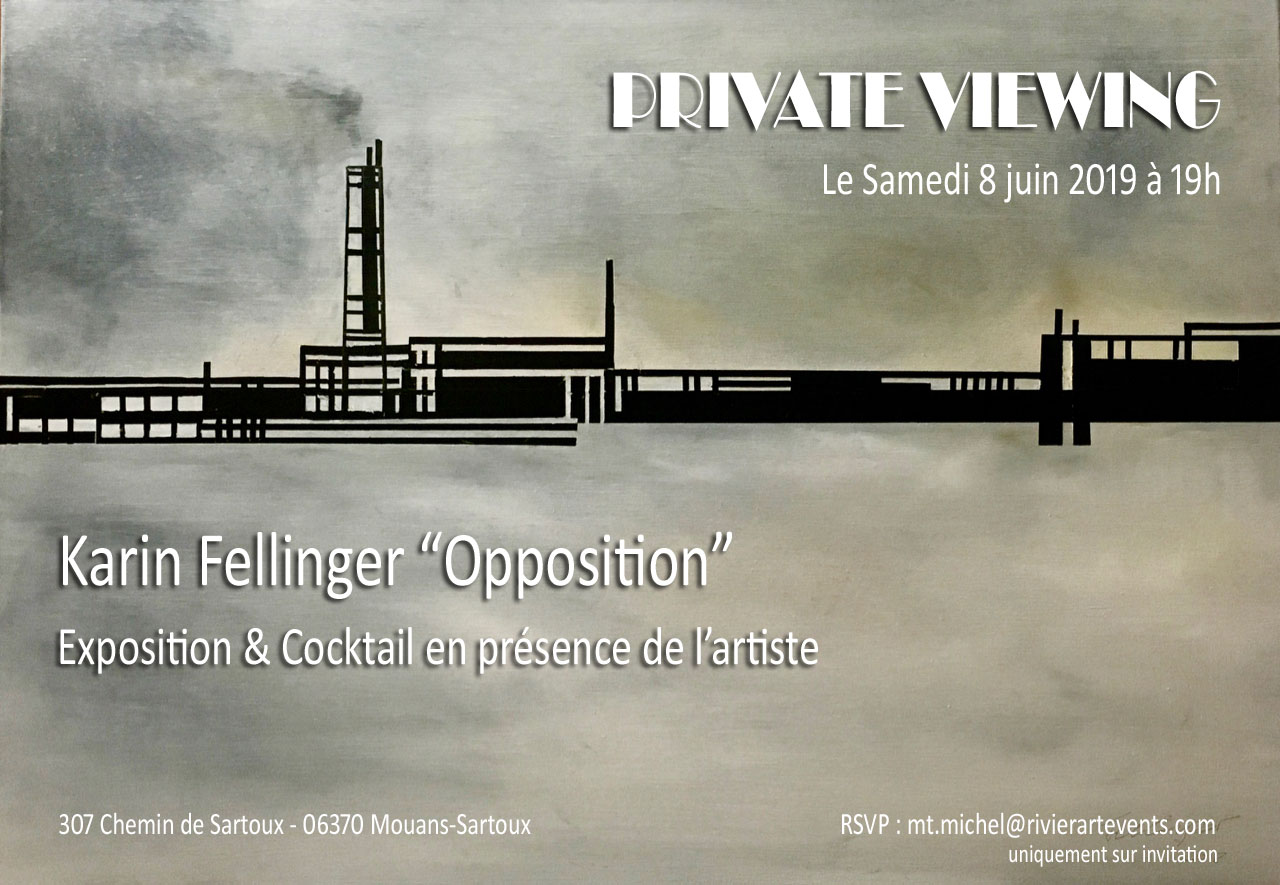 "Private Viewing ""Opposition"" par Karin Fellinger 